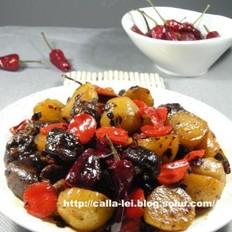 小土豆焖小香菇