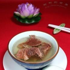 桔梗胡椒牛肉汤