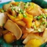 蚝油白灵菇