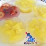 菠萝山楂水晶果冻
