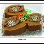 咖啡蓝莓蛋糕卷