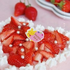草莓凍芝士蛋糕的做法