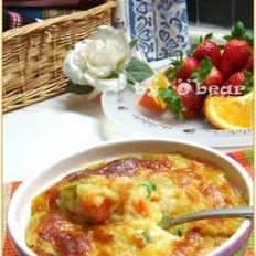 咖喱焗土豆泥