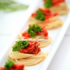 意大利肉酱焗意粉的做法