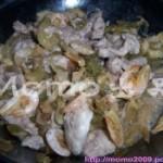 榨菜虾干蒸猪肉