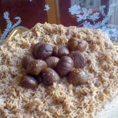 栗子慕斯蛋糕