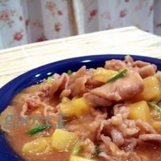 菠萝茄汁肉片