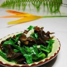 大叶木耳菜的做法