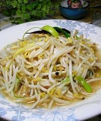 素炒豆芽菜