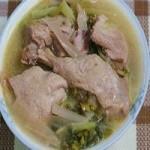 酸菜鸭子汤