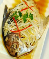 美味蒸平鱼