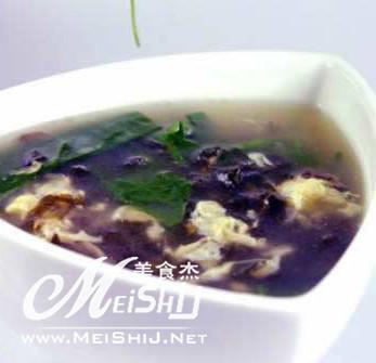 紫菜汤的做法图片