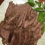 五香卤牛肉