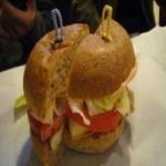豆腐汉堡包