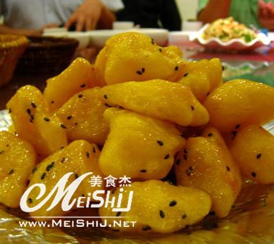 拔丝奶皮-www.meishij.net