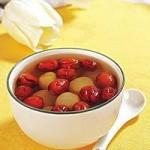 生枣花生红糖汤