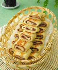 豆沙水晶饼