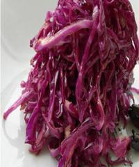 醋溜紫甘蓝