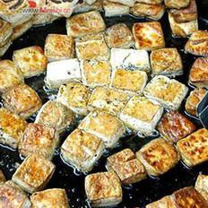 油煎毛豆腐