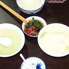 洛碛豆花饭的做法