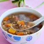 绿豆南瓜汤的做法
