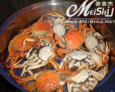 清蒸河蟹的做法_微波清蒸河蟹的做法【图】清家常烧鱿鱼干图片