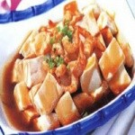 红烧虾米豆腐