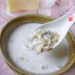 牛奶麦片粥