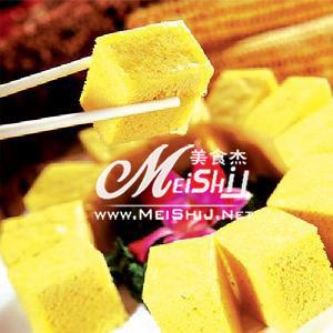 玉米面发糕的做法【步骤图】_菜谱_美食杰