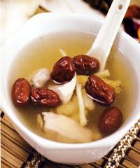 首乌丹参煲红枣