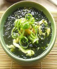 金钩紫菜汤