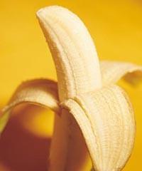 香蕉蘸黑芝麻