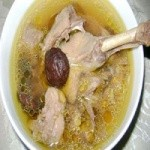 砂锅鸭子汤