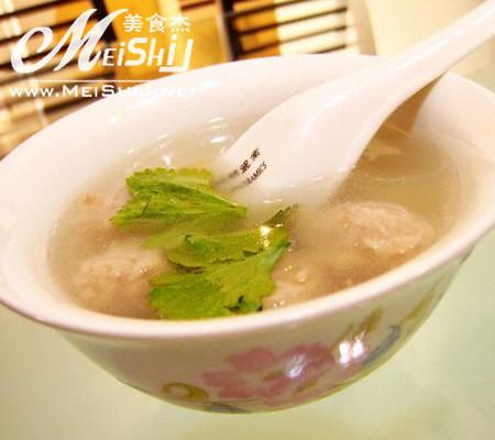 【图】嘌呤猪肉汤_猪肉糙米汤的丸子,做,丸子含量做法高吗图片