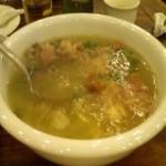 醋椒鸭架汤