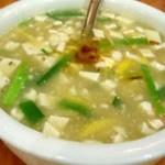 苦瓜豆腐汤