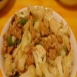 肉末烧菜花(1-3岁)