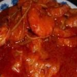 番茄酱焖大虾-全程图解