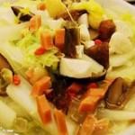 火腿白菜炖汤的做法