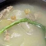 干贝猪肉汤的做法