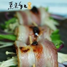 三文鱼时蔬卷