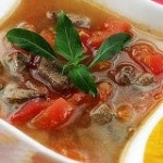 西红柿猪肝瘦肉汤
