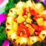 奶油烤菠萝什锦
