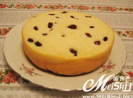 自制欧式水果蛋糕的做法