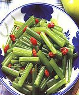 枸杞炒芹菜