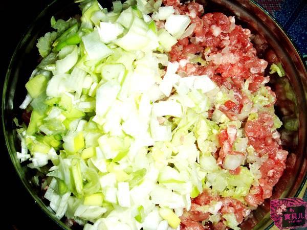 猪肉米面饺子奶香玉白菜窍门发糕图片