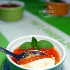 木瓜炖奶酪的做法