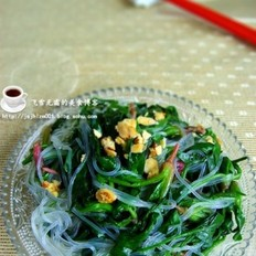粉丝炝菠菜的做法