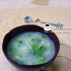 青菜糯米糊