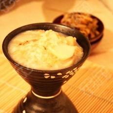砂锅小芋头糙米粥